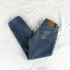 Vintage Levi's 501s USA Made Button Fly Jeans